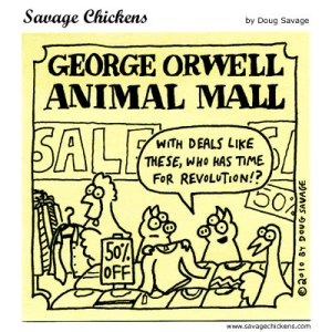 Savage Chickens Cartoon